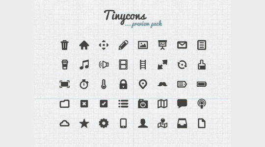40 Symbols, Signs, Glyph And Simple Icon Sets For Your Design 37