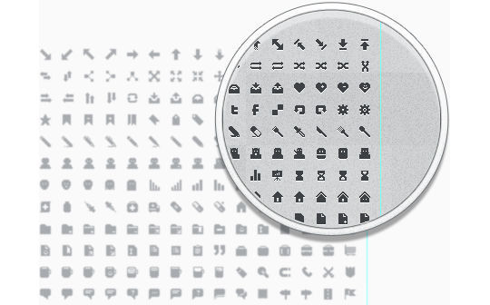 40 Symbols, Signs, Glyph And Simple Icon Sets For Your Design 38