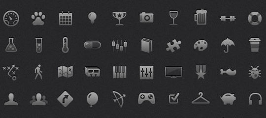 40 Symbols, Signs, Glyph And Simple Icon Sets For Your Design 11