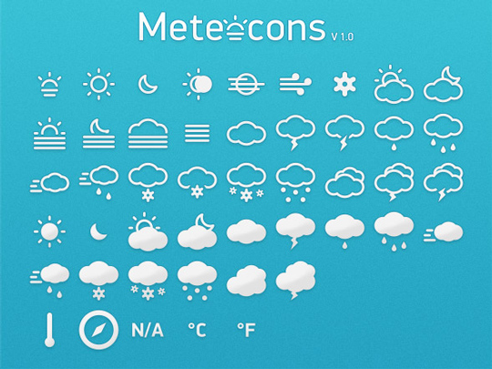 40 Symbols, Signs, Glyph And Simple Icon Sets For Your Design 5