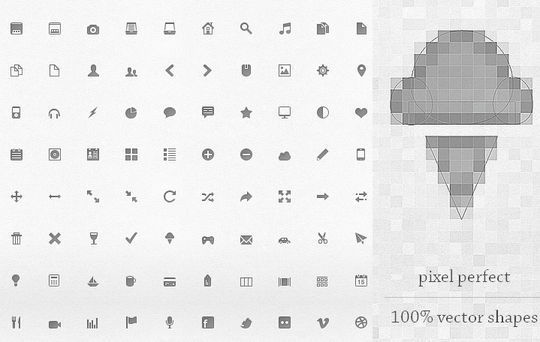 40 Symbols, Signs, Glyph And Simple Icon Sets For Your Design 14