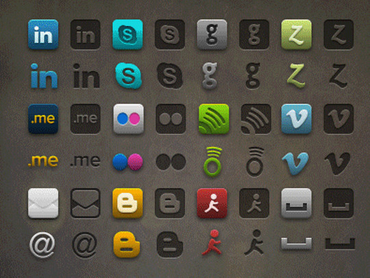 Latest Collection Of Free Icon Sets Available In PSD Format 35
