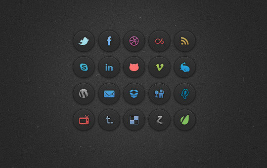 Latest Collection Of Free Icon Sets Available In PSD Format 38