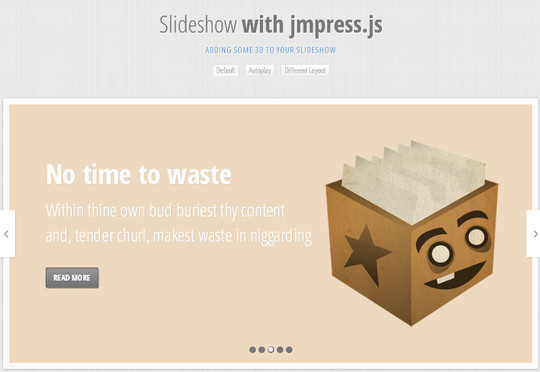 Ultimate Collection Of Fresh jQuery Plugins And Tutorials 30