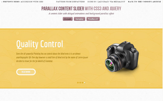 Ultimate Collection Of Fresh jQuery Plugins And Tutorials 36