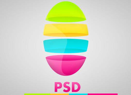14 Useful Free PSD Logo Templates 11
