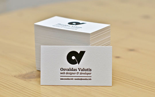 Cleverly Created White Business Cards For Your Inspiration 8