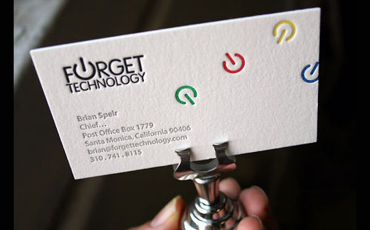Cleverly Created White Business Cards For Your Inspiration 17