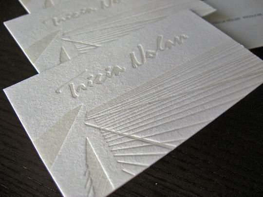 Cleverly Created White Business Cards For Your Inspiration 22