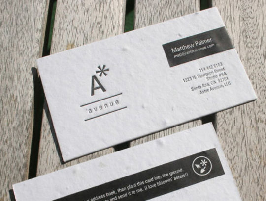 Cleverly Created White Business Cards For Your Inspiration 4