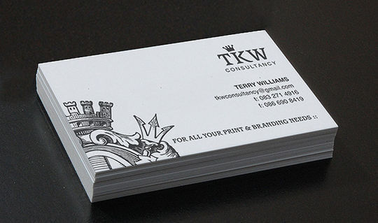 Cleverly Created White Business Cards For Your Inspiration 24