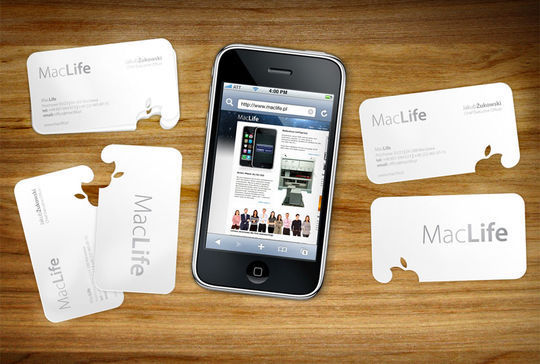 Cleverly Created White Business Cards For Your Inspiration 26