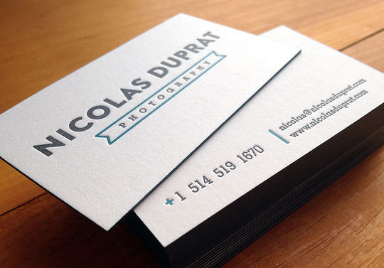 Cleverly Created White Business Cards For Your Inspiration 27