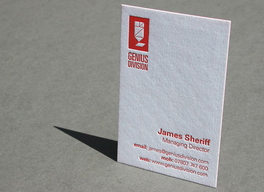 Cleverly Created White Business Cards For Your Inspiration 2