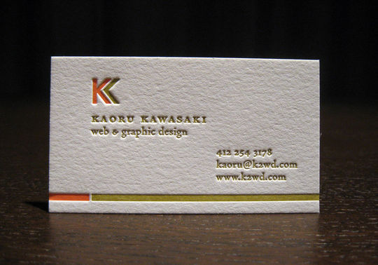 Cleverly Created White Business Cards For Your Inspiration 28