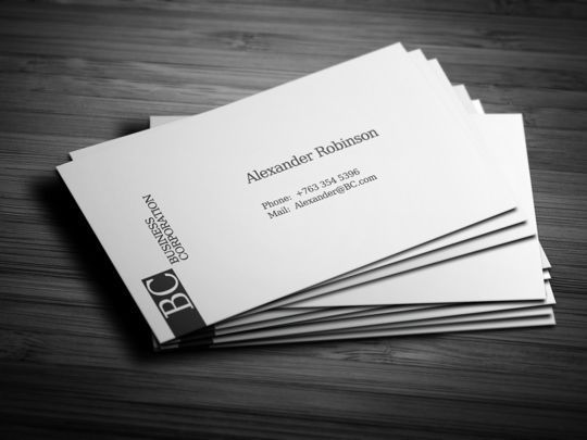 Cleverly Created White Business Cards For Your Inspiration 31