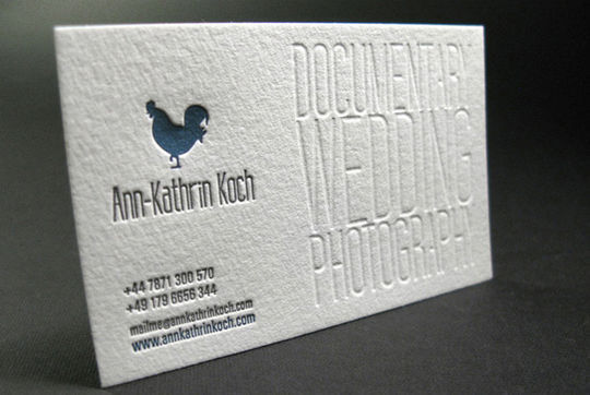 Cleverly Created White Business Cards For Your Inspiration 10