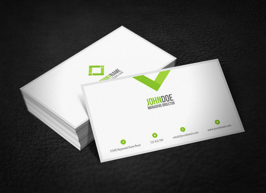 Cleverly Created White Business Cards For Your Inspiration 32