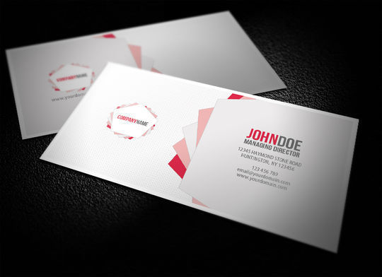 Cleverly Created White Business Cards For Your Inspiration 33