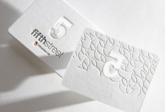 Cleverly Created White Business Cards For Your Inspiration 36
