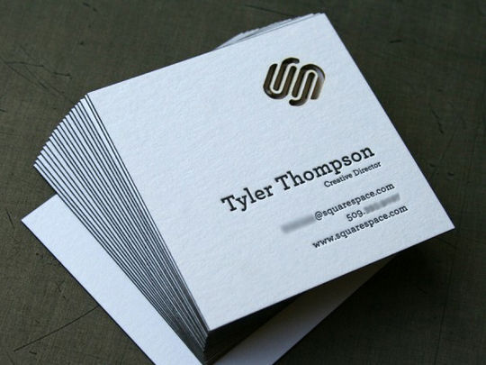 Cleverly Created White Business Cards For Your Inspiration 6
