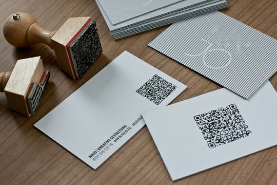 Cleverly Created White Business Cards For Your Inspiration 37