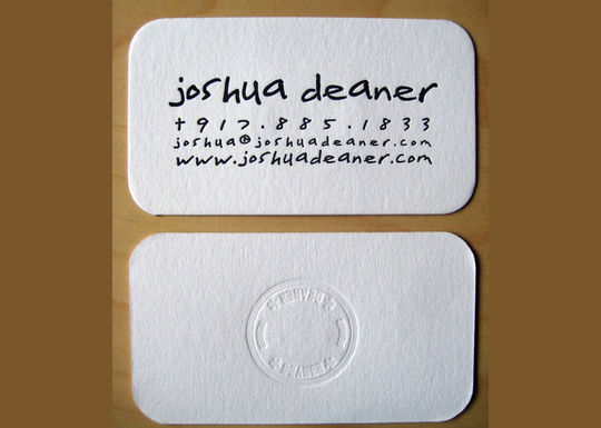Cleverly Created White Business Cards For Your Inspiration 49