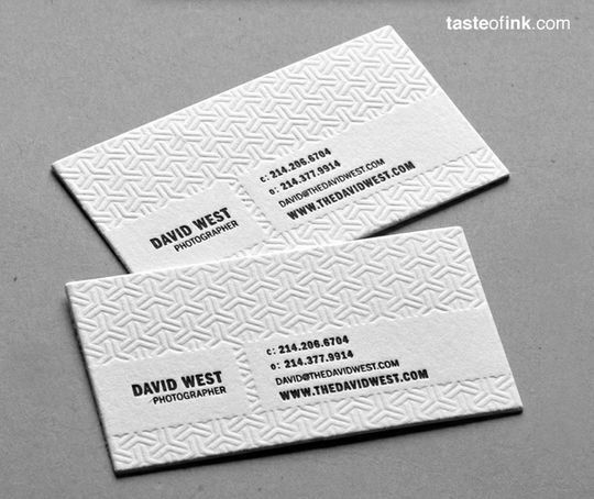 Cleverly Created White Business Cards For Your Inspiration 12
