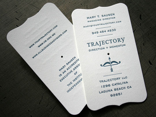 Cleverly Created White Business Cards For Your Inspiration 14