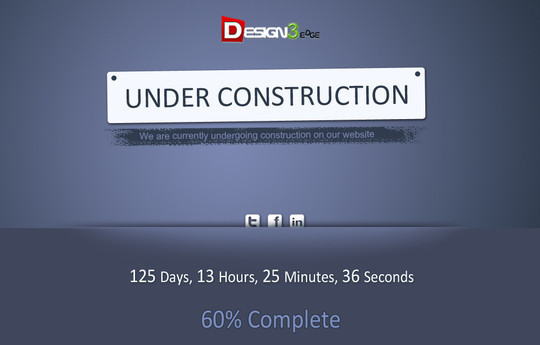 Ultimate Collection Of Free Coming Soon And Under Construction Templates 17