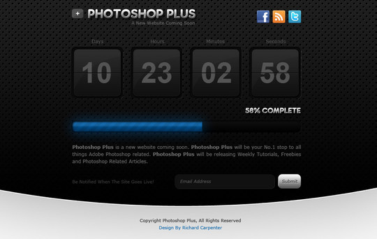 Ultimate Collection Of Free Coming Soon And Under Construction Templates 35