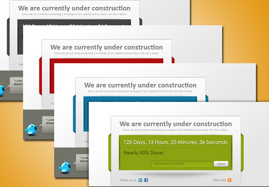 Ultimate Collection Of Free Coming Soon And Under Construction Templates 24