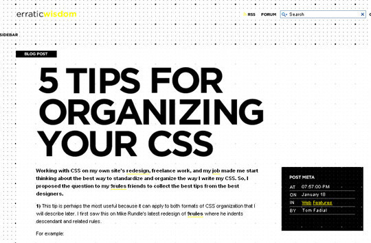 50 Useful Websites And Resources To Become A CSS Expert 31
