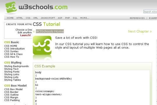 50 Useful Websites And Resources To Become A CSS Expert 39