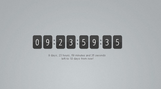 16 Cool Countdown Timer Scripts For Your Projects 2