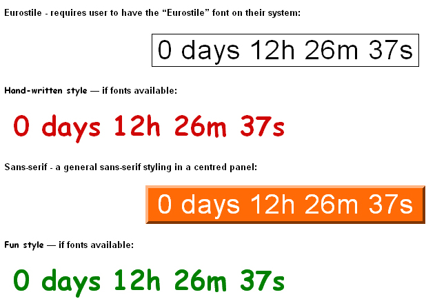 16 Cool Countdown Timer Scripts For Your Projects 11