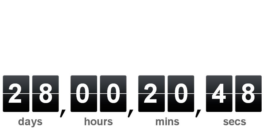 16 Cool Countdown Timer Scripts For Your Projects 3