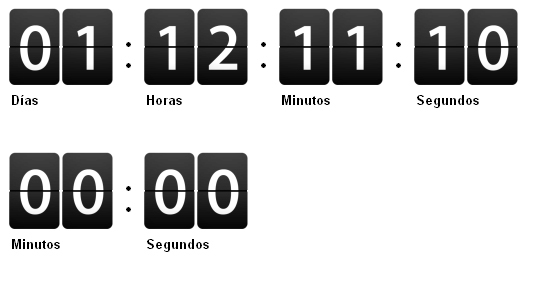 16 Cool Countdown Timer Scripts For Your Projects 5