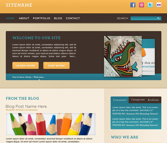 9 Articles And Tutorials To Learn PSD To HTML Conversion 10