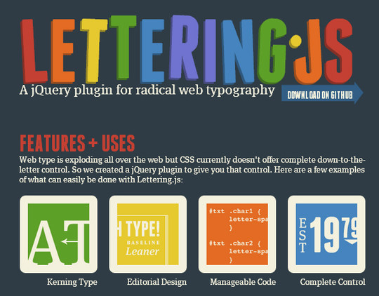 11 Most Useful jQuery Plugins To Enhance Typography 4
