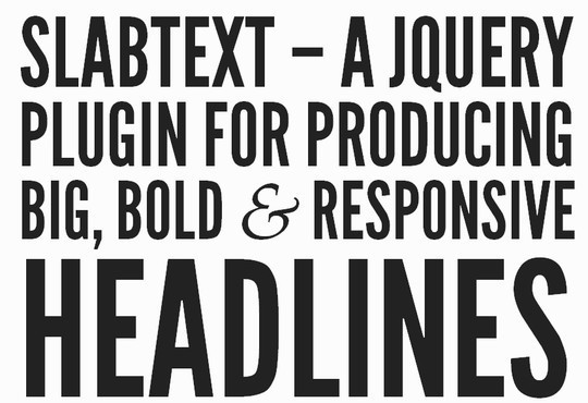 11 Most Useful jQuery Plugins To Enhance Typography 6
