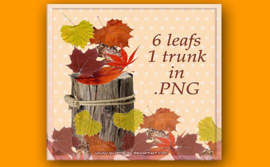 19 Free Photoshop Leaf Brush Sets 12