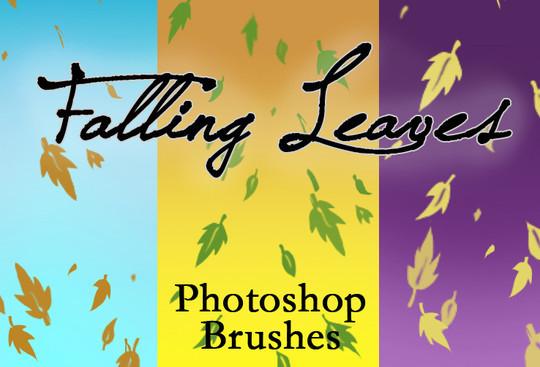 19 Free Photoshop Leaf Brush Sets 1