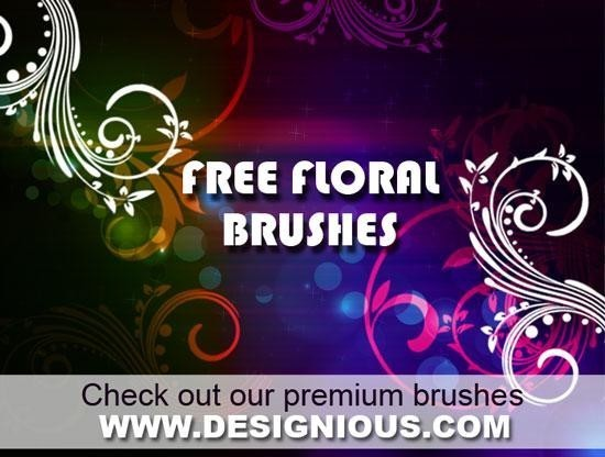60 New and Free Photoshop Brush Packs For Designers 60