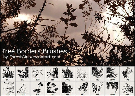 60 New and Free Photoshop Brush Packs For Designers 26