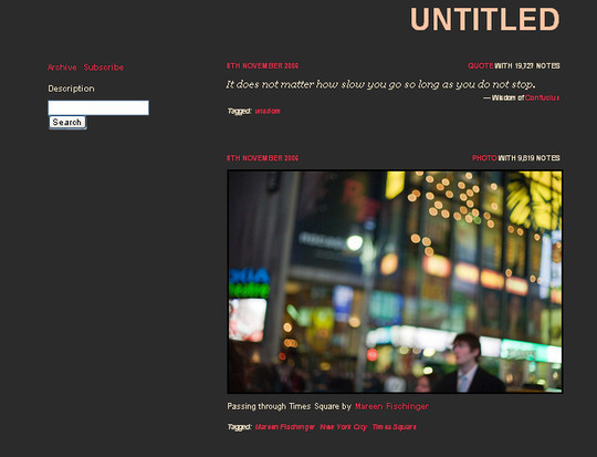 50 Elegant Free Tumblr Themes And Widgets For Blogging Experience 26