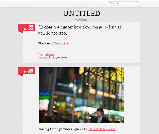 50 Elegant Free Tumblr Themes And Widgets For Blogging Experience 27