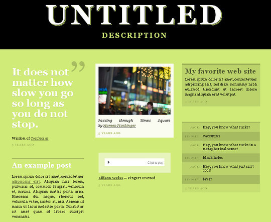 50 Elegant Free Tumblr Themes And Widgets For Blogging Experience 8