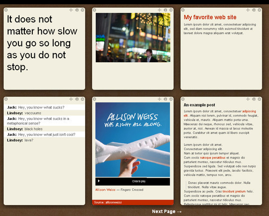50 Elegant Free Tumblr Themes And Widgets For Blogging Experience 28