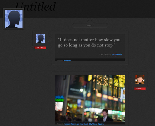 50 Elegant Free Tumblr Themes And Widgets For Blogging Experience 30